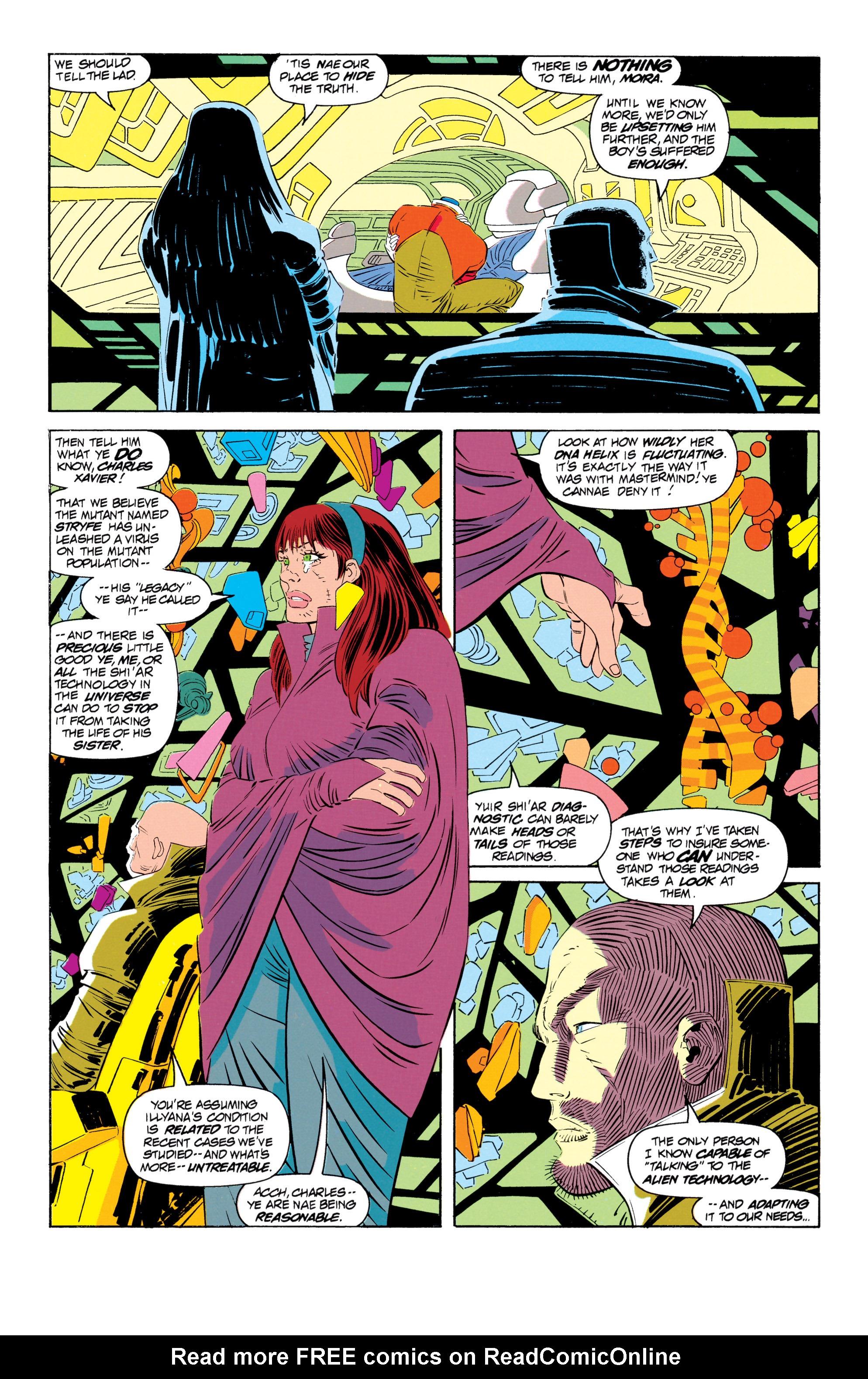 Read online Uncanny X-Men (1963) comic -  Issue #301 - 9