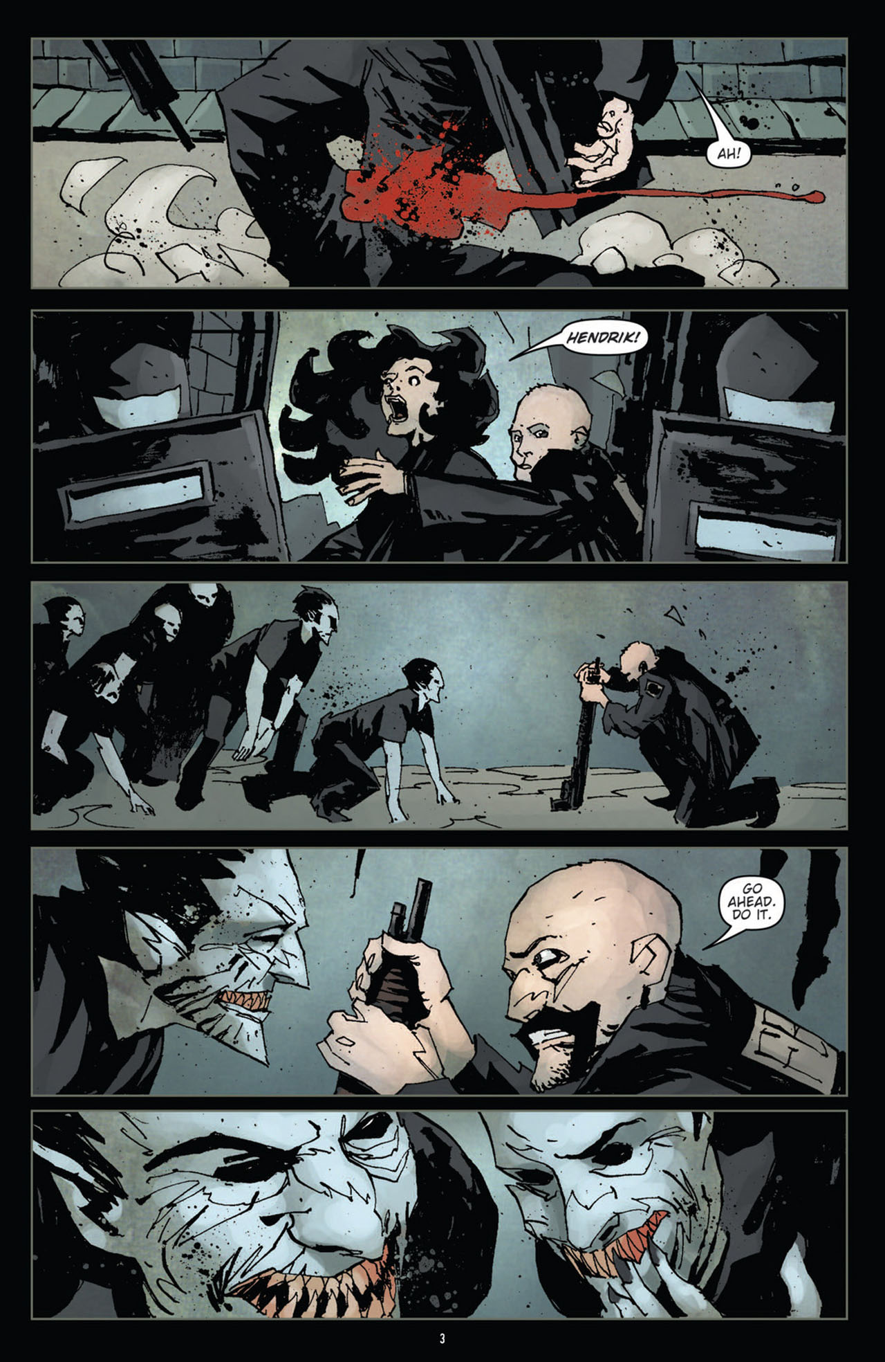 Read online 30 Days of Night (2011) comic -  Issue #11 - 5