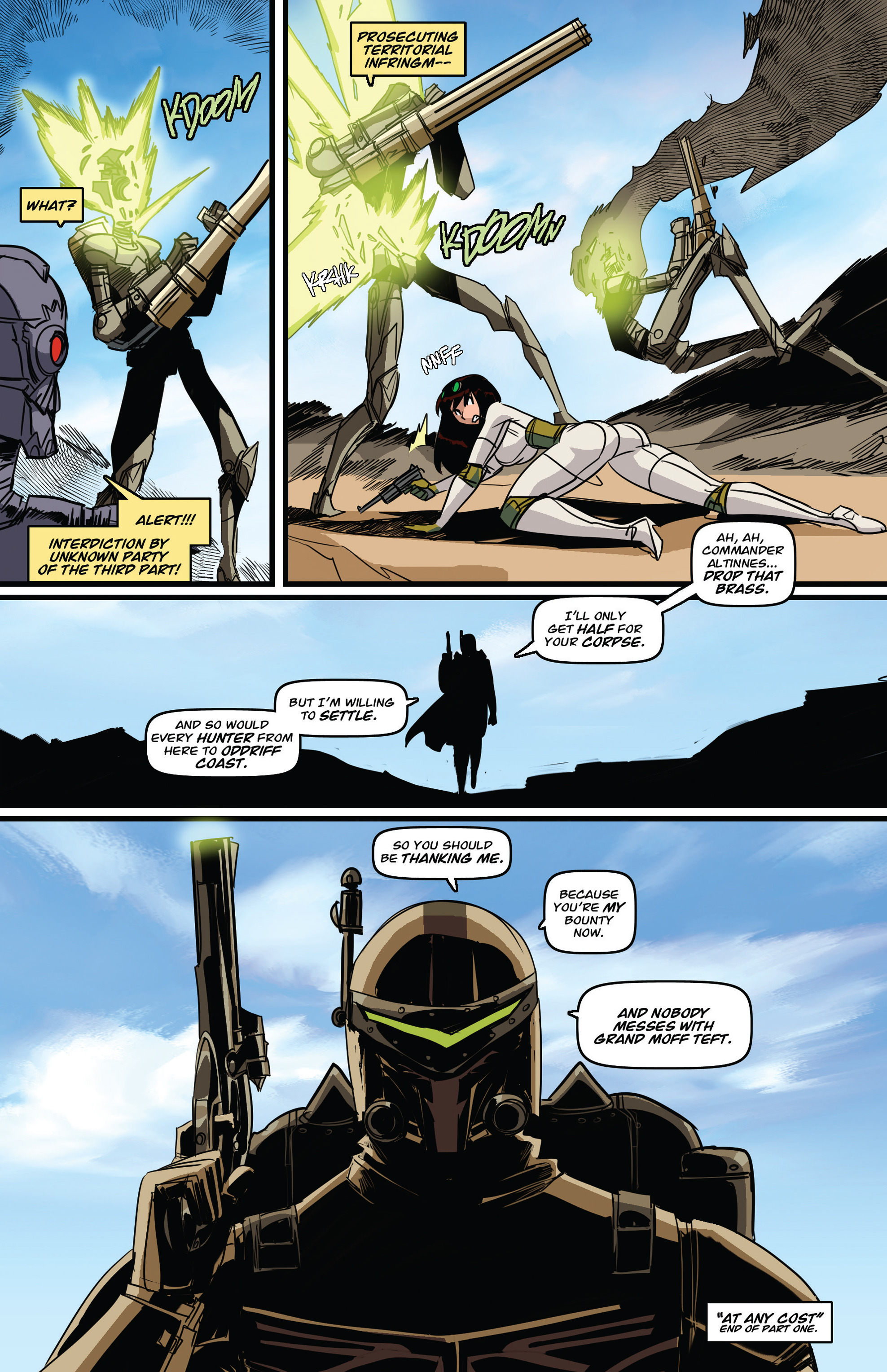 Read online Steam Wars: First Empire comic -  Issue #3 - 27