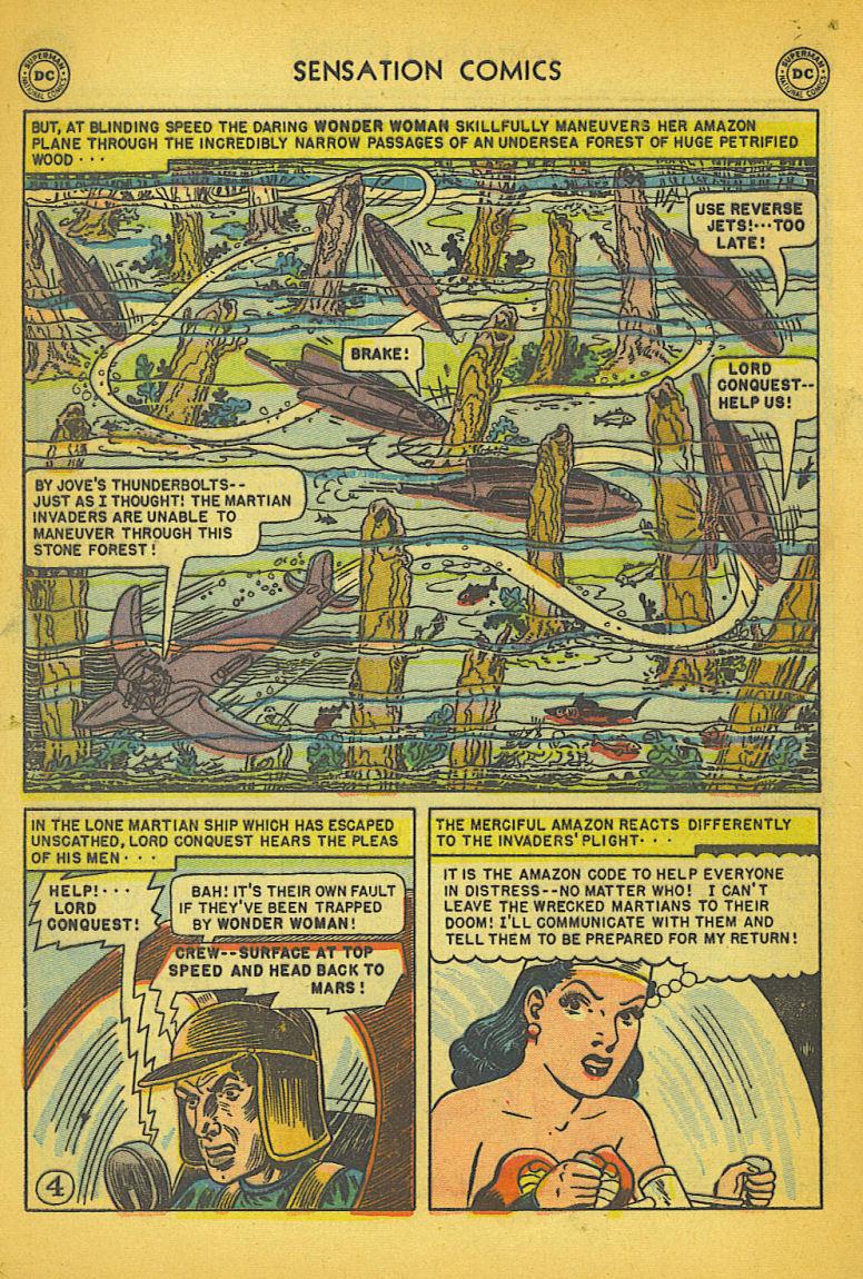 Read online Sensation (Mystery) Comics comic -  Issue #104 - 6