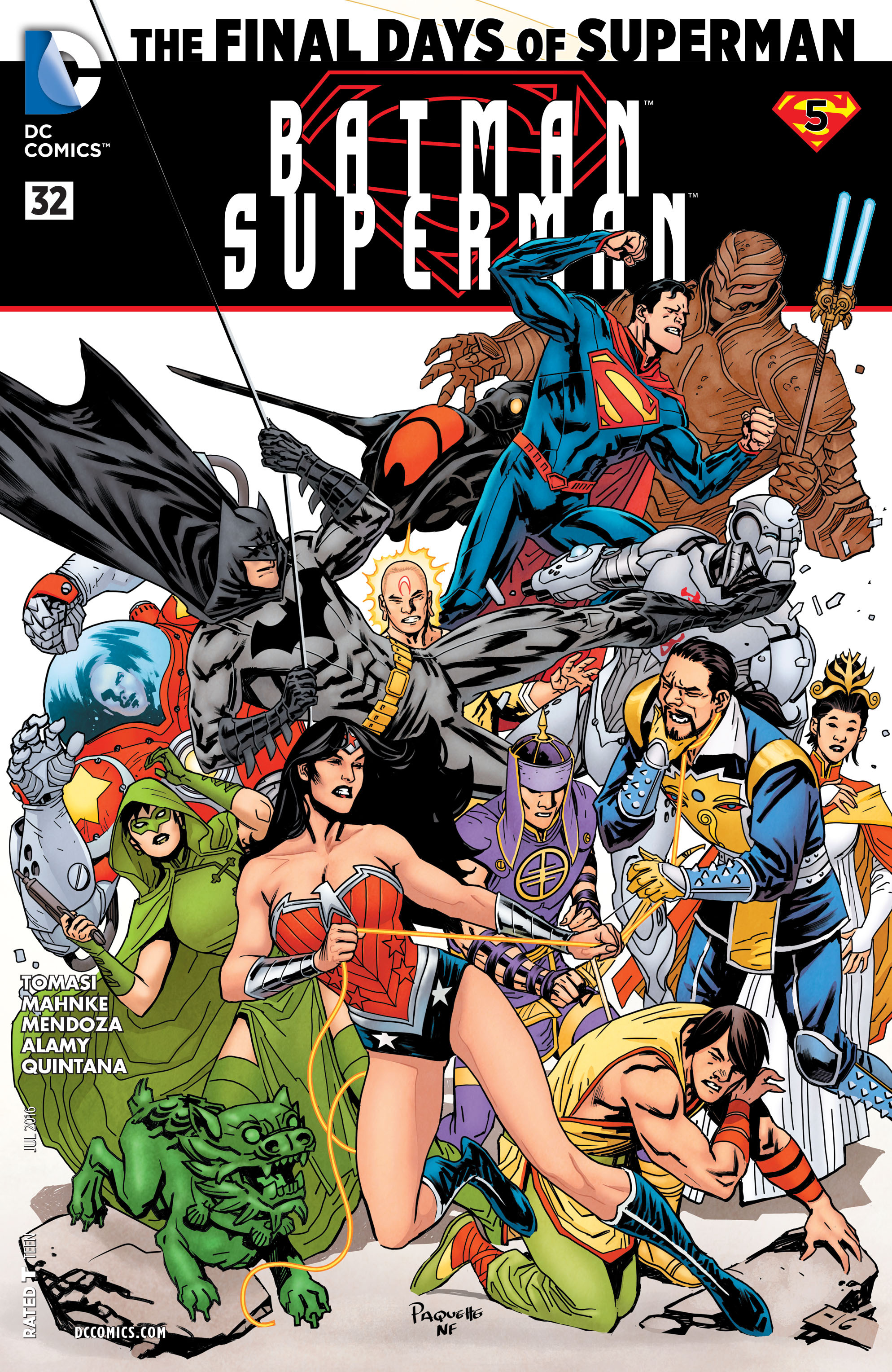 Batman/Superman (2013) 32 Page 1