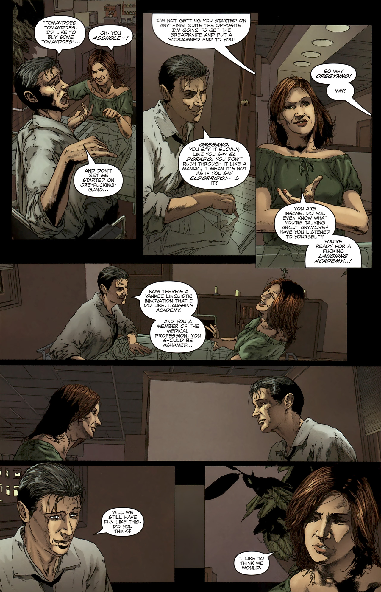 Read online Chronicles of Wormwood: The Last Battle comic -  Issue #5 - 7
