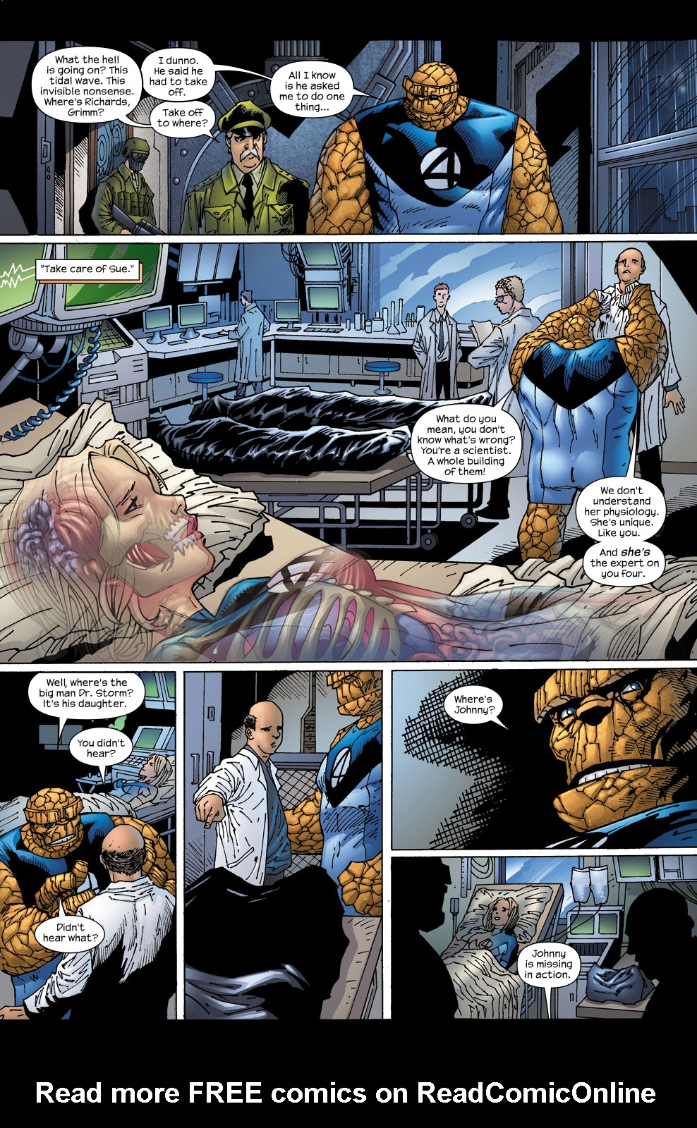 Read online Ultimate Fantastic Four (2004) comic -  Issue #58 - 7