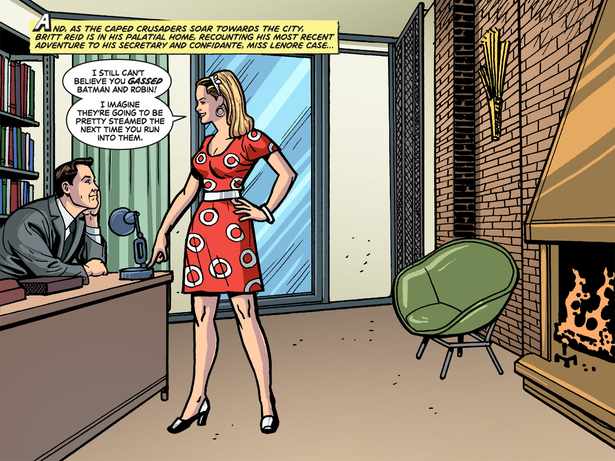 Read online Batman '66 Meets the Green Hornet [II] comic -  Issue #4 - 39