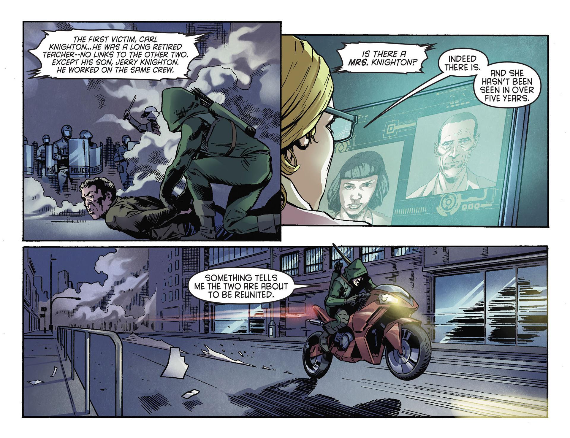 Read online Arrow [II] comic -  Issue #30 - 16
