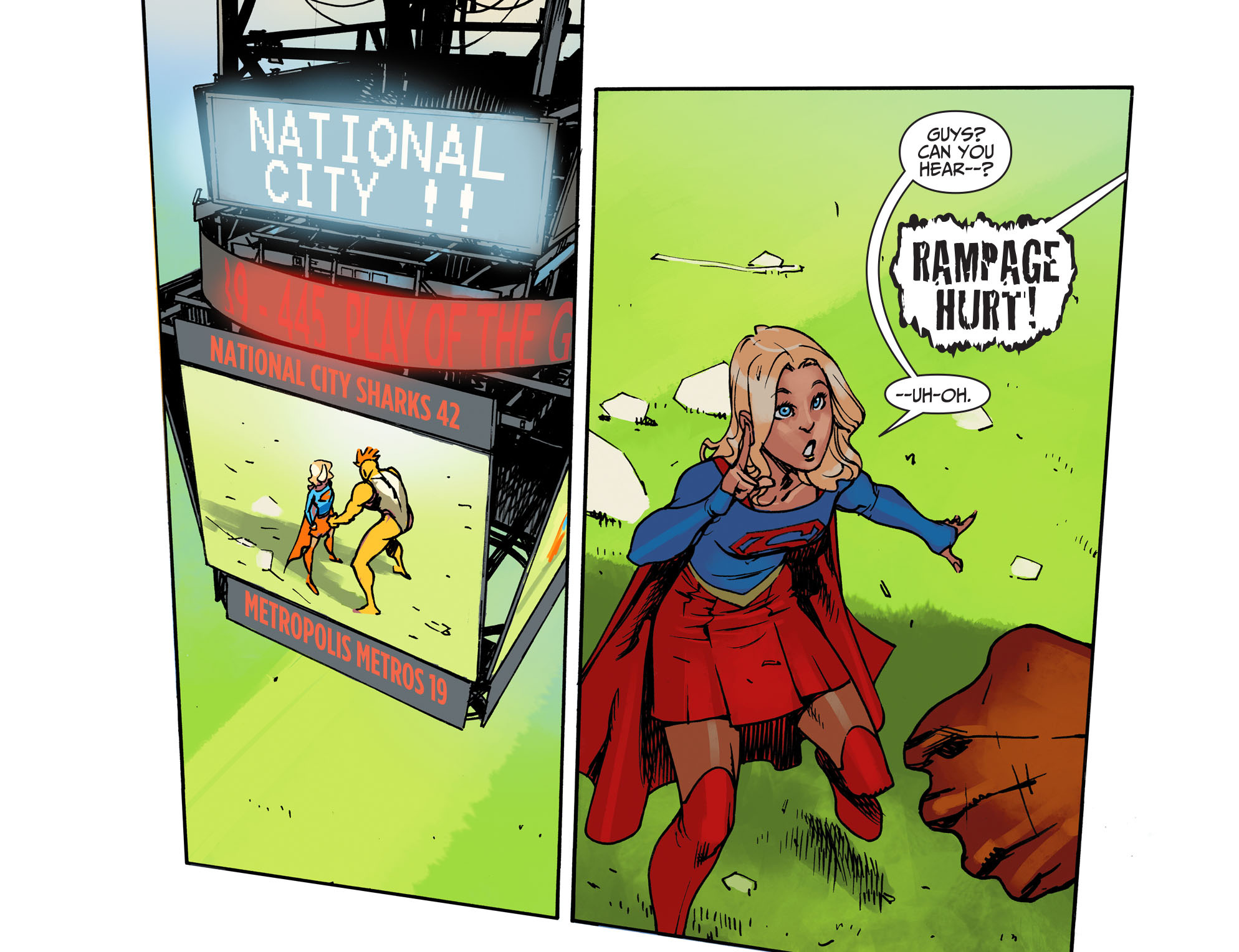 Read online Adventures of Supergirl comic -  Issue #1 - 6