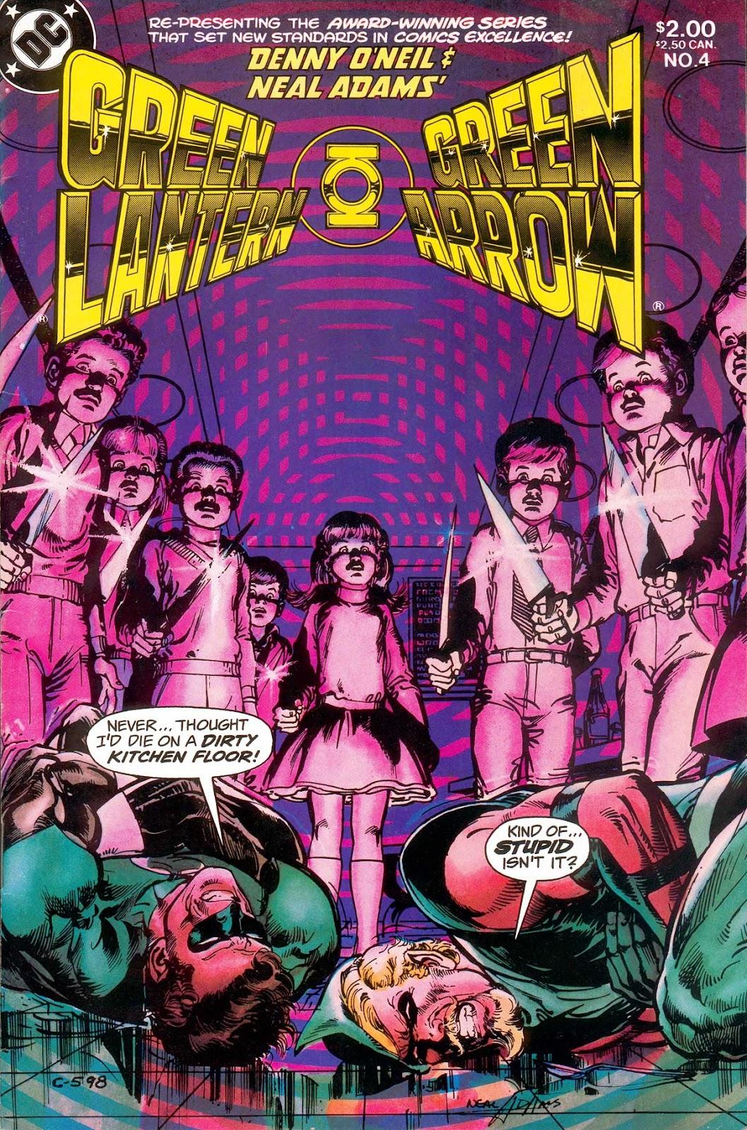 Green Lantern/Green Arrow 4 Page 1