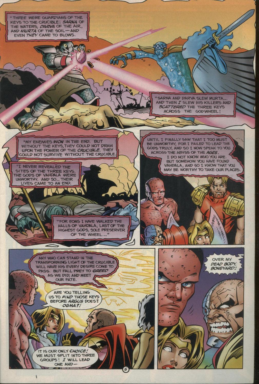 Read online Godwheel comic -  Issue #2 - 8