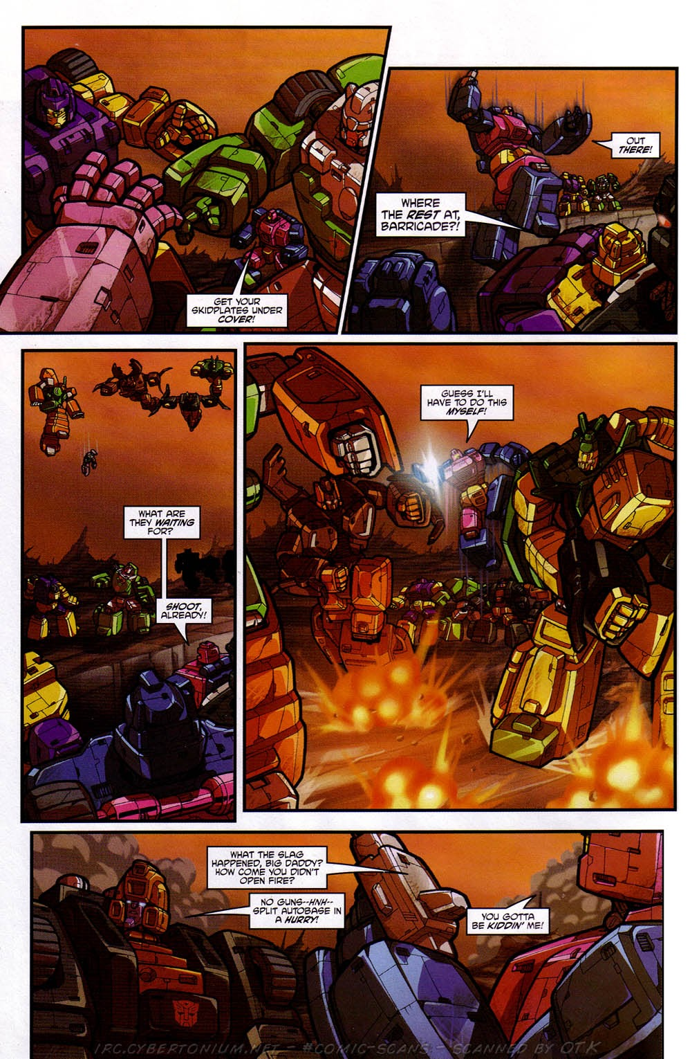 Read online Transformers: Micromasters comic -  Issue #2 - 5