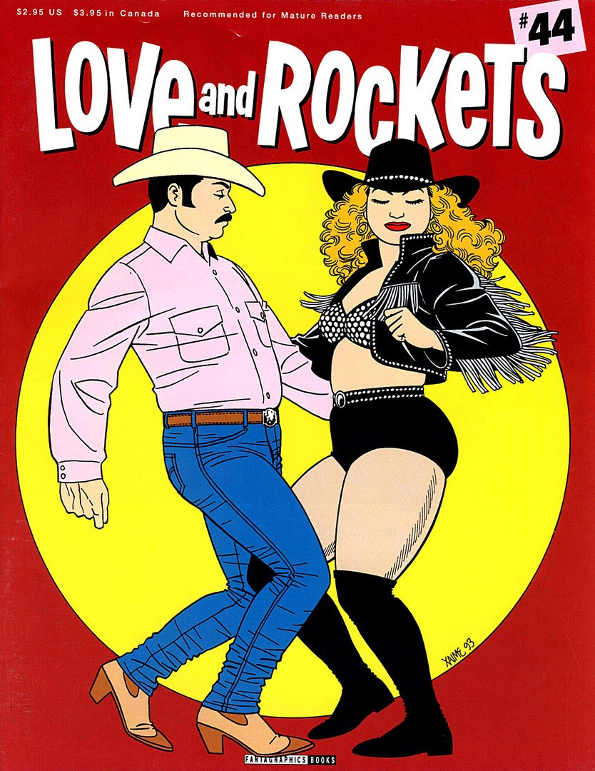 Love and Rockets (1982) issue 44 - Page 1
