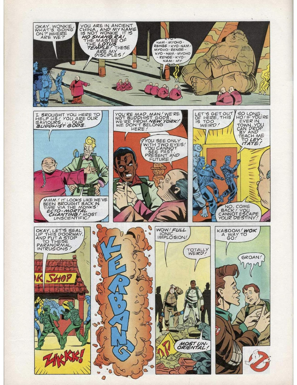 The Real Ghostbusters Issue #193 #167 - English 19