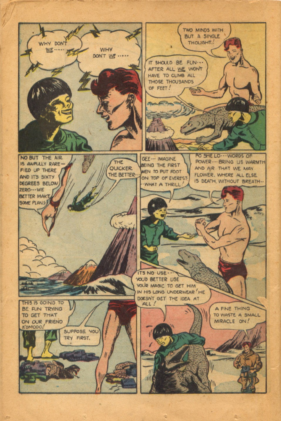 Read online Super-Magician Comics comic -  Issue #52 - 25