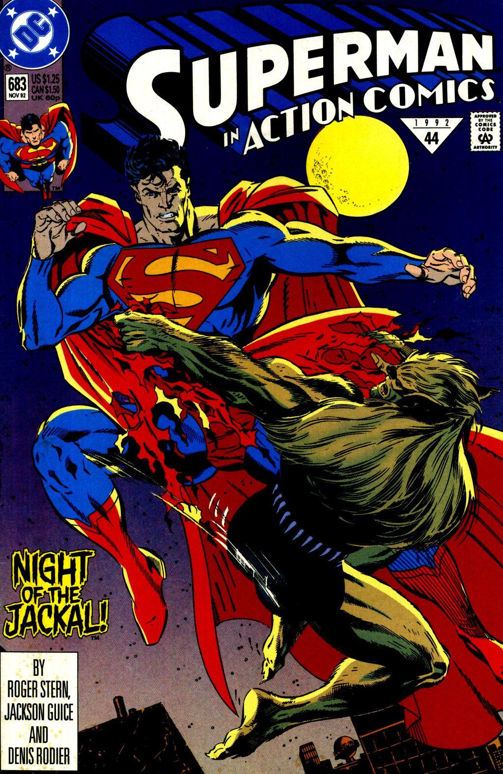 Action Comics (1938) 683 Page 1