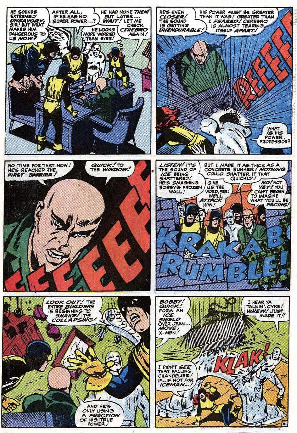 Read online Uncanny X-Men (1963) comic -  Issue #67 - 8