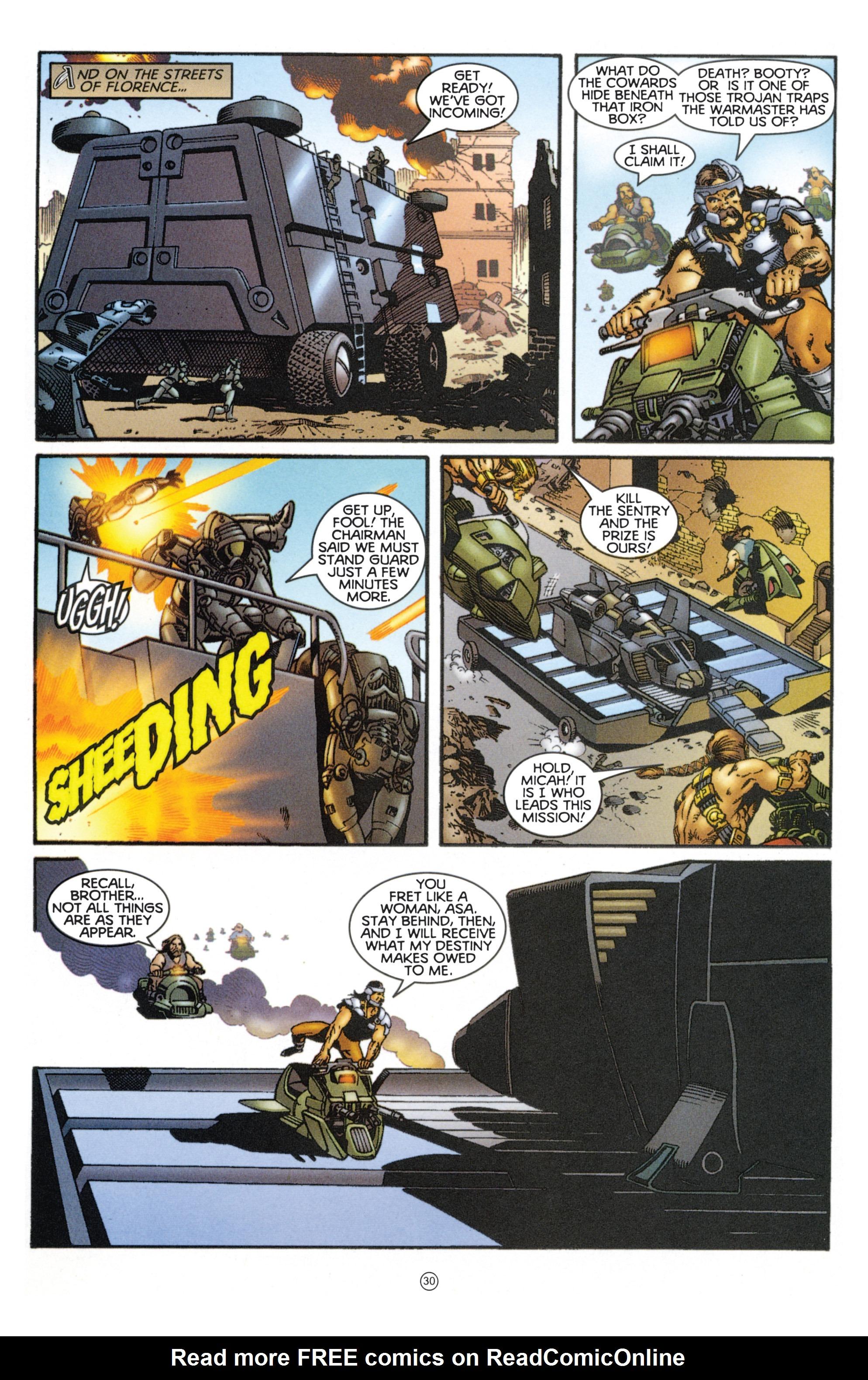 Read online Eternal Warriors comic -  Issue # Issue Mog - 26