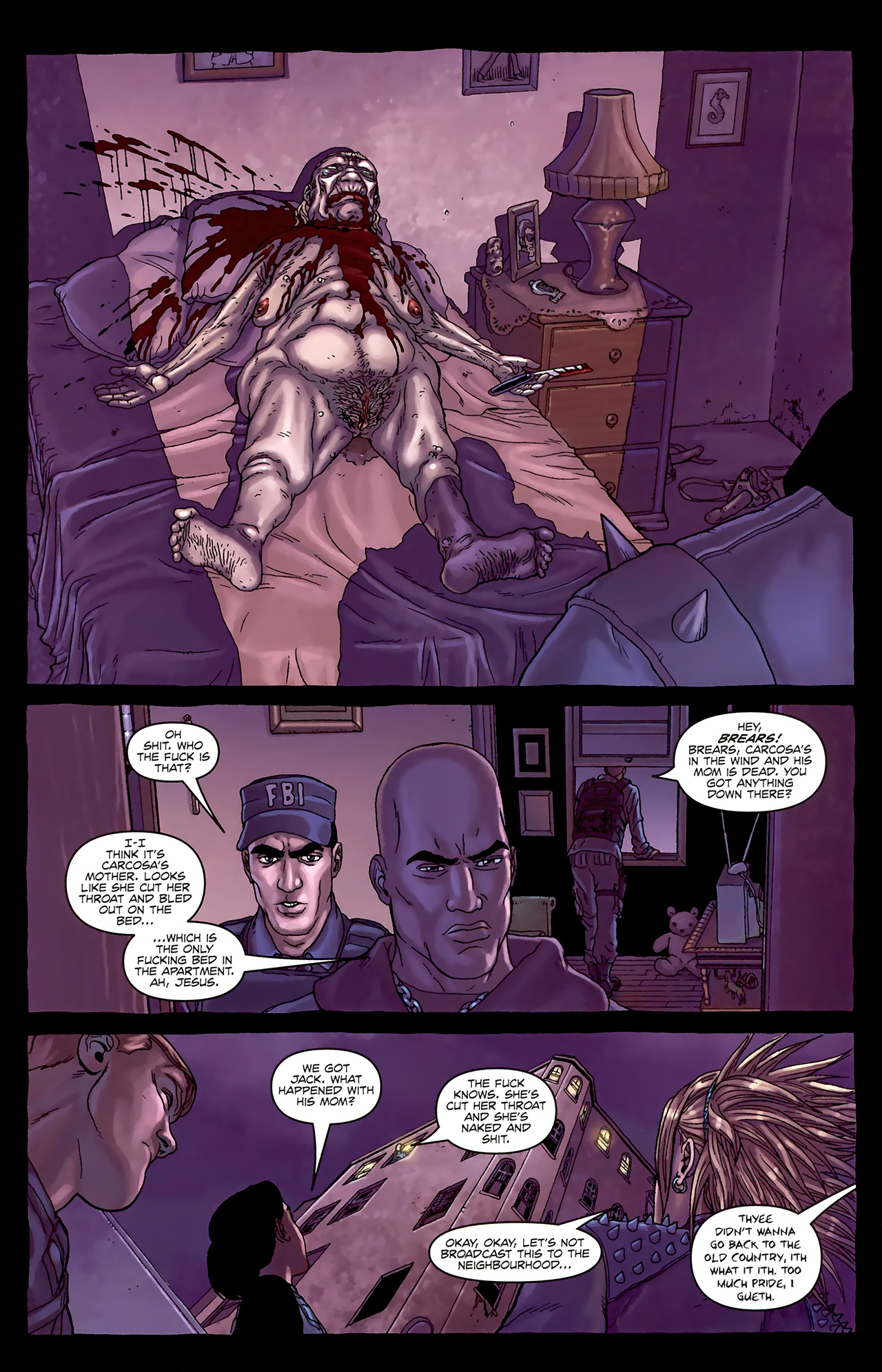 Read online Alan Moore's Neonomicon comic -  Issue #1 - 32