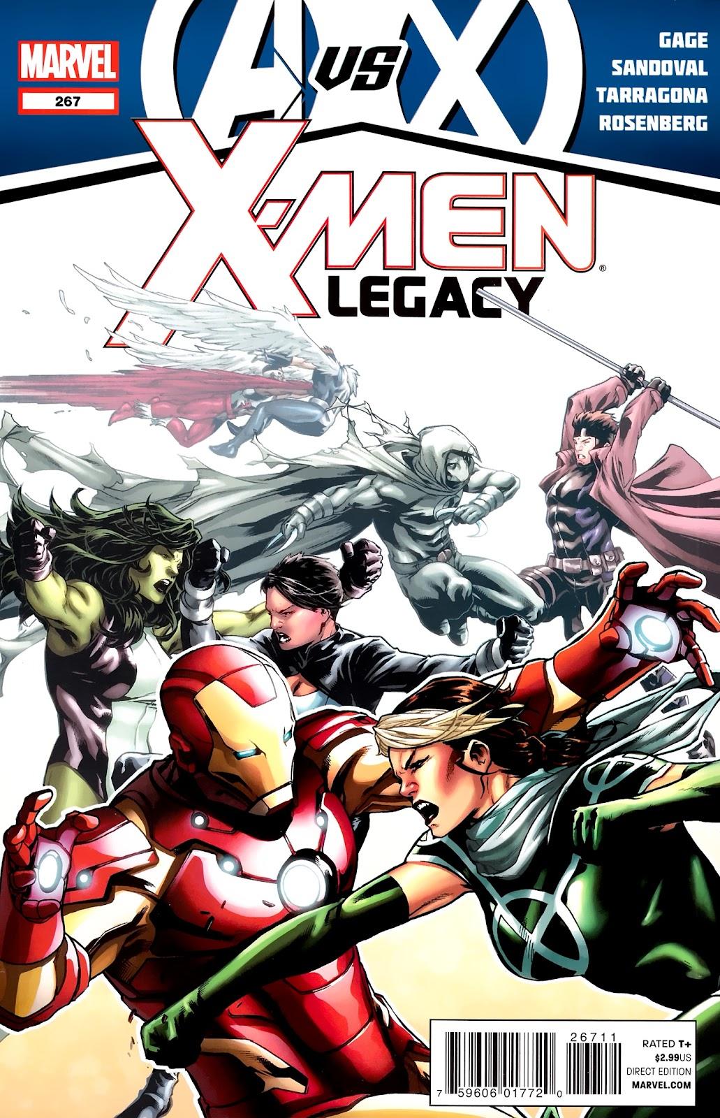 X-Men Legacy (2008) 267 Page 1