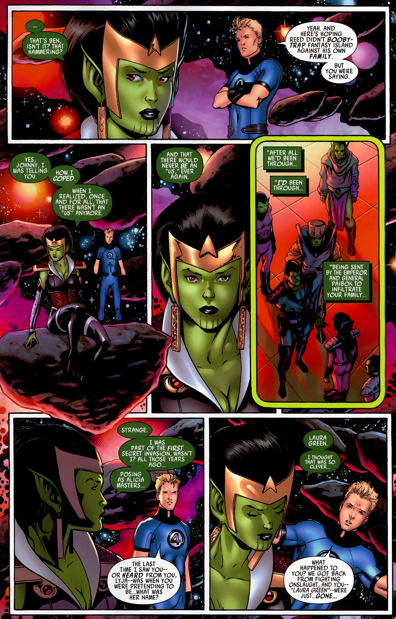 Read online Secret Invasion: Fantastic Four comic -  Issue #3 - 11