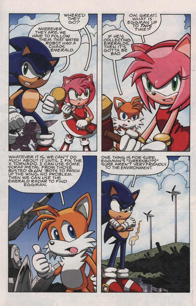 Read online Sonic X comic -  Issue #28 - 22