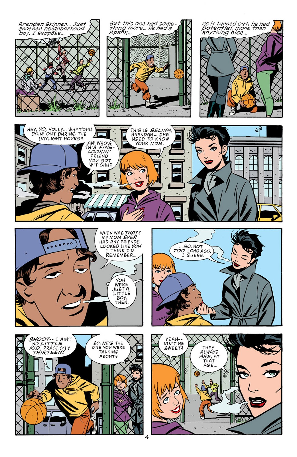 Catwoman (2002) Issue #5 #5 - English 5