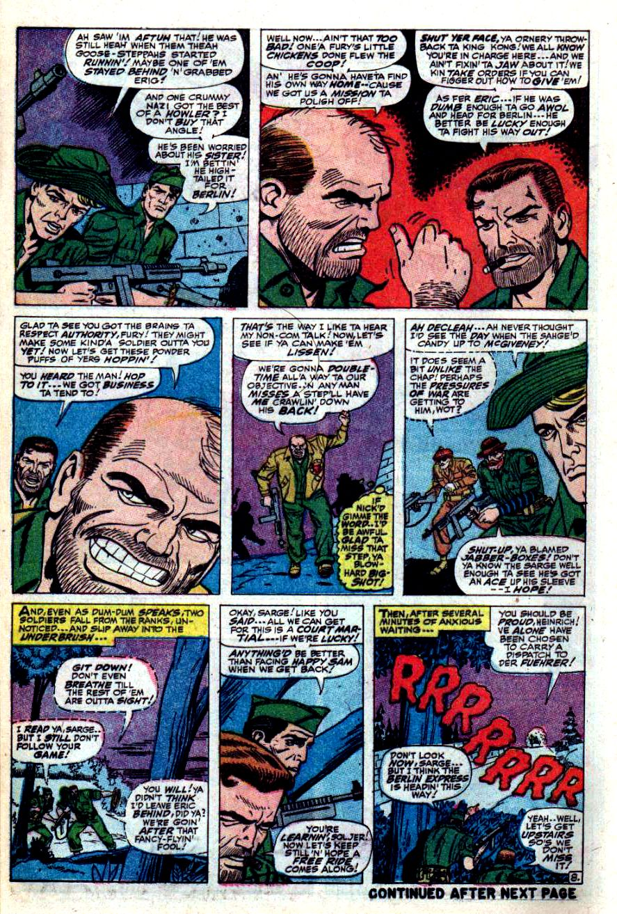 Read online Sgt. Fury comic -  Issue #42 - 12