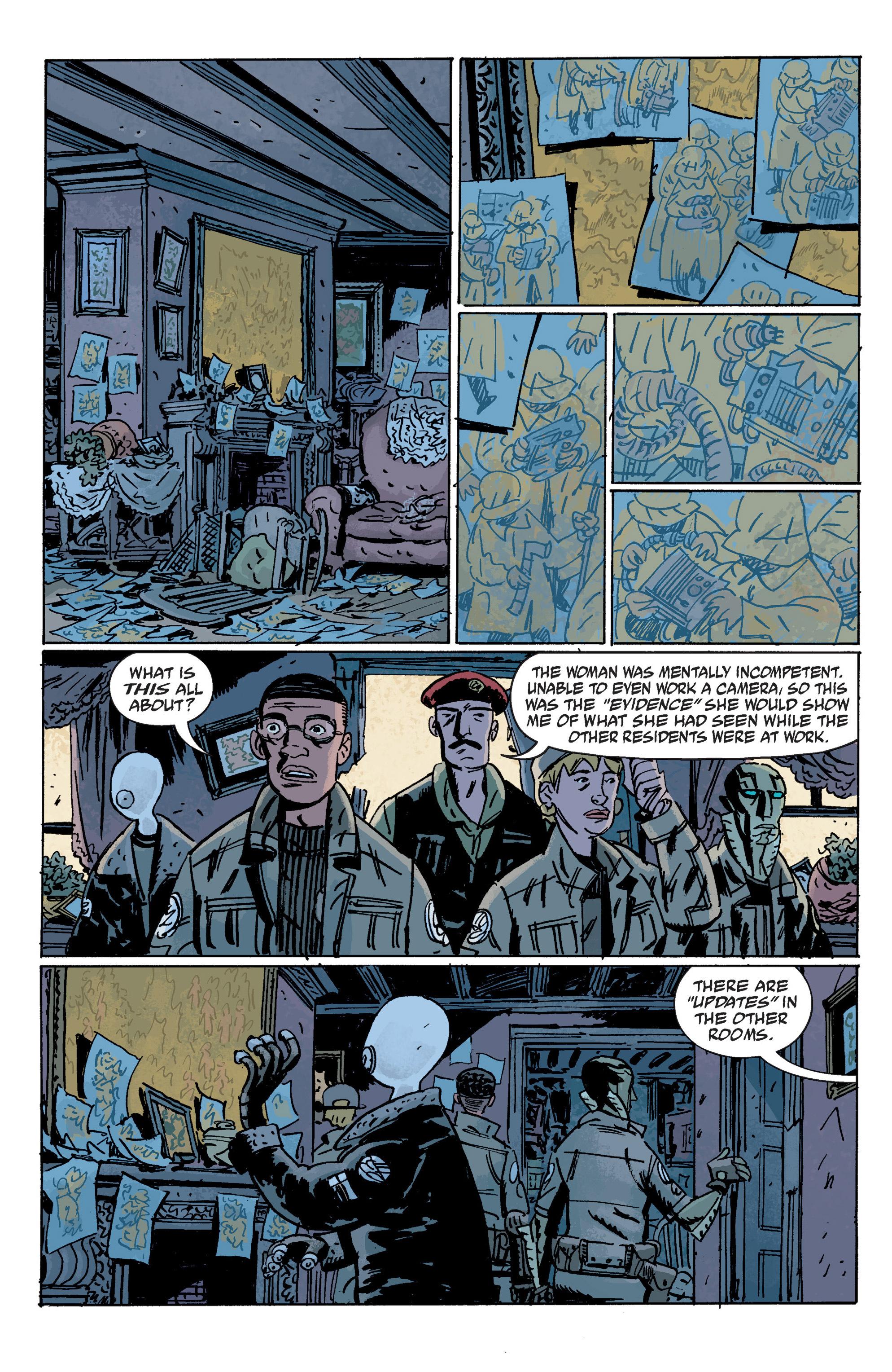 Read online B.P.R.D. (2003) comic -  Issue # TPB 10 - 72