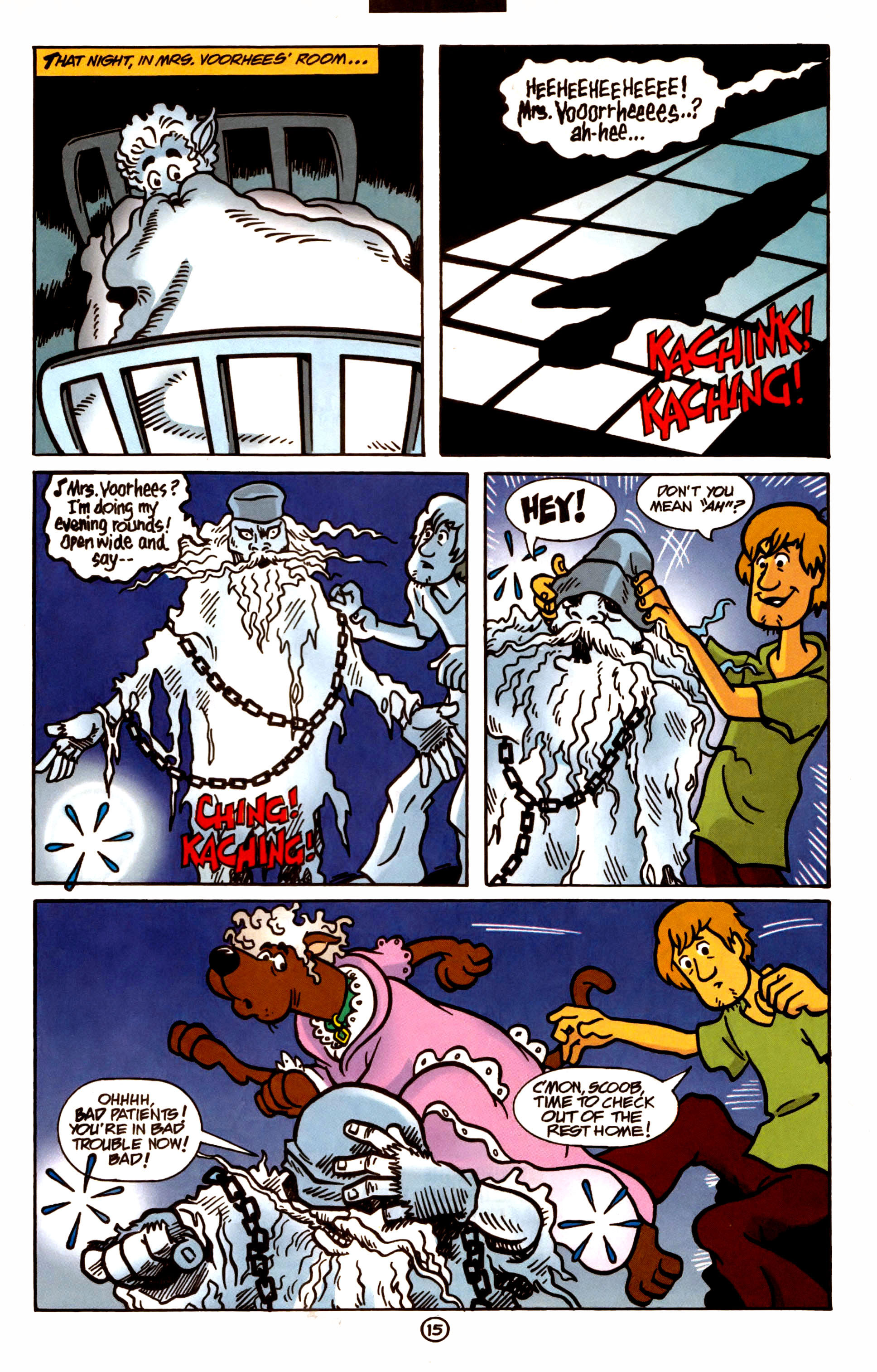 Read online Scooby-Doo (1997) comic -  Issue #1 - 13