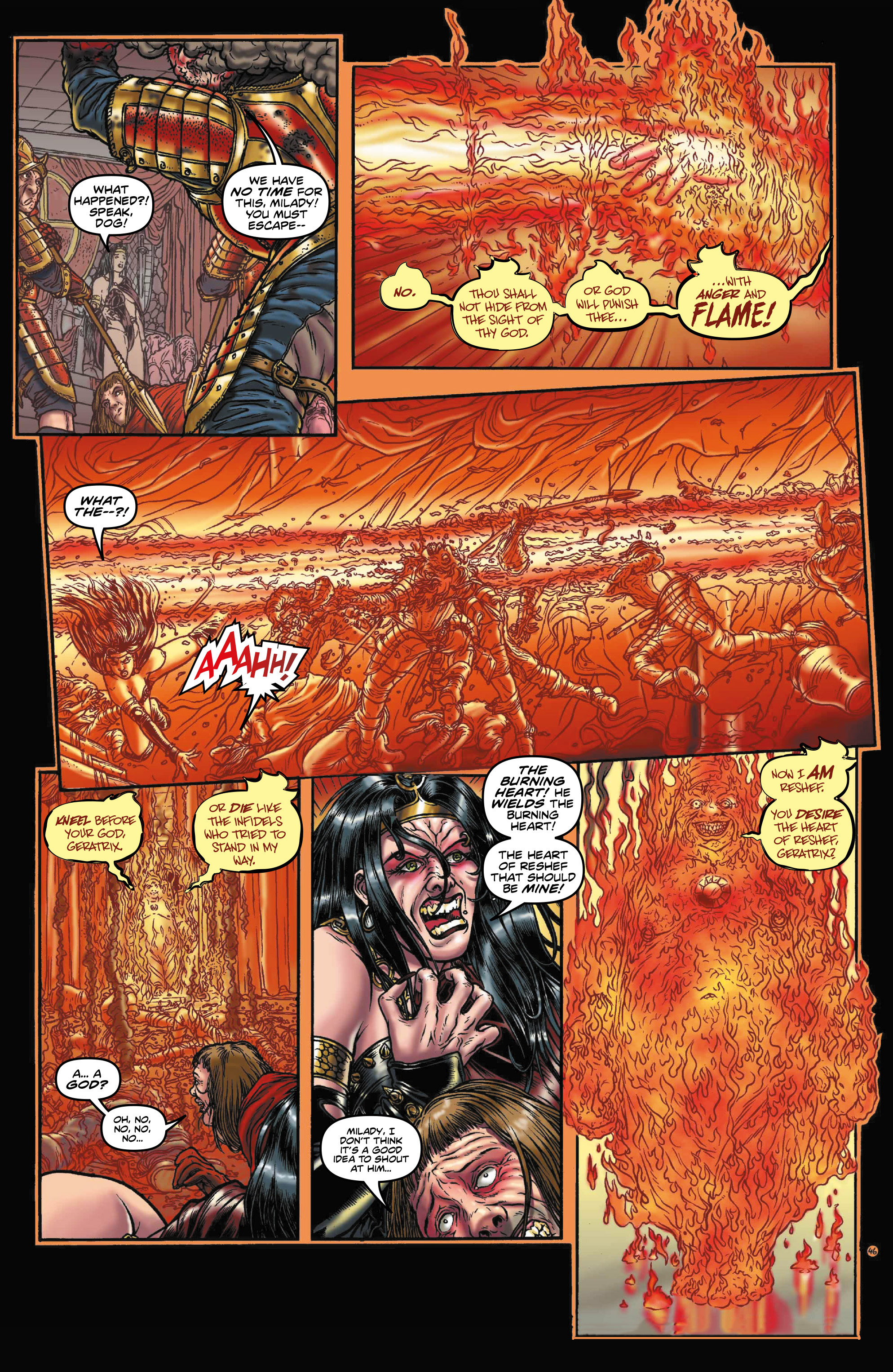 Read online Rogues!: The Burning Heart comic -  Issue #3 - 4