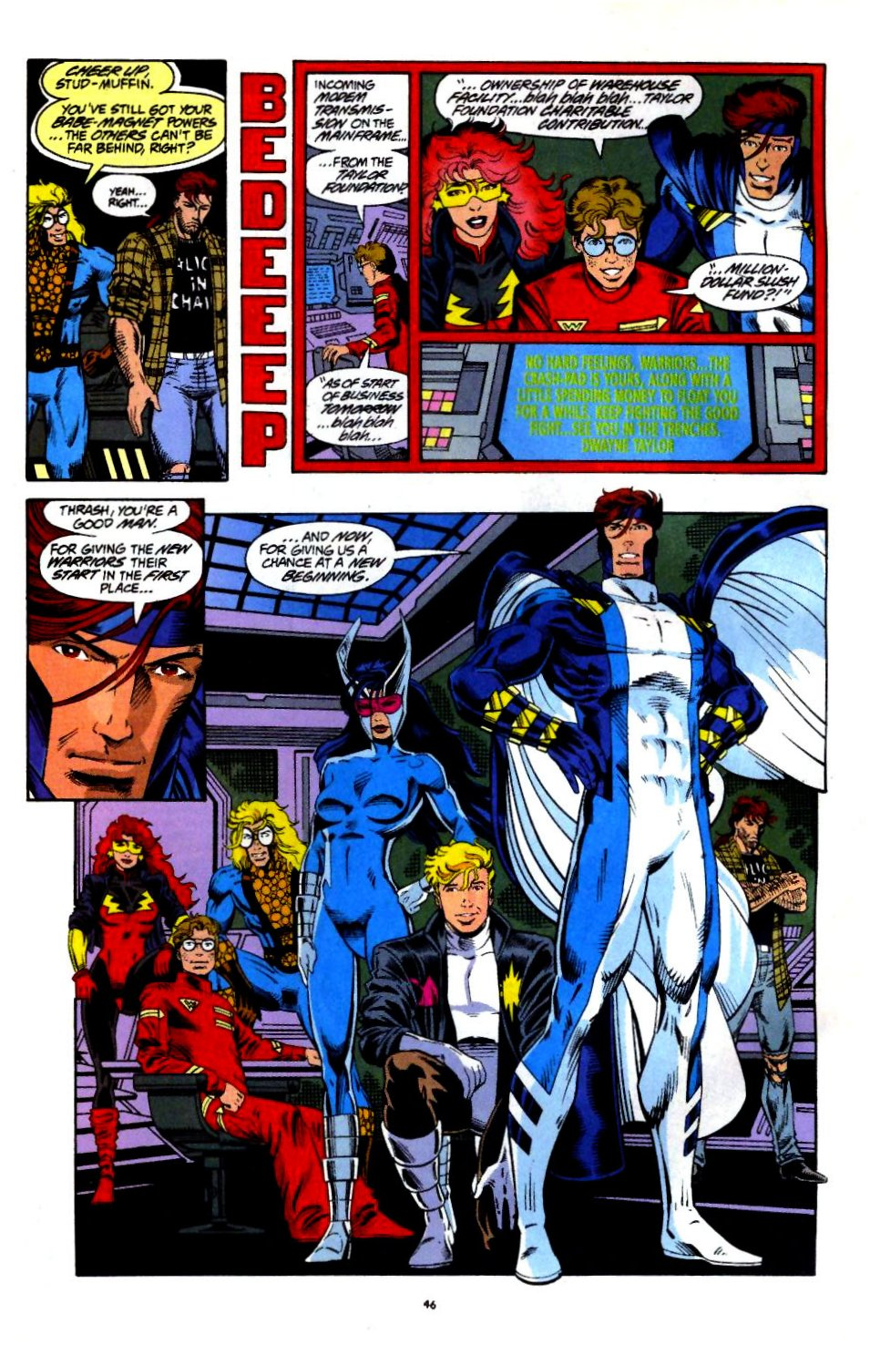 The New Warriors Issue #60 #64 - English 37