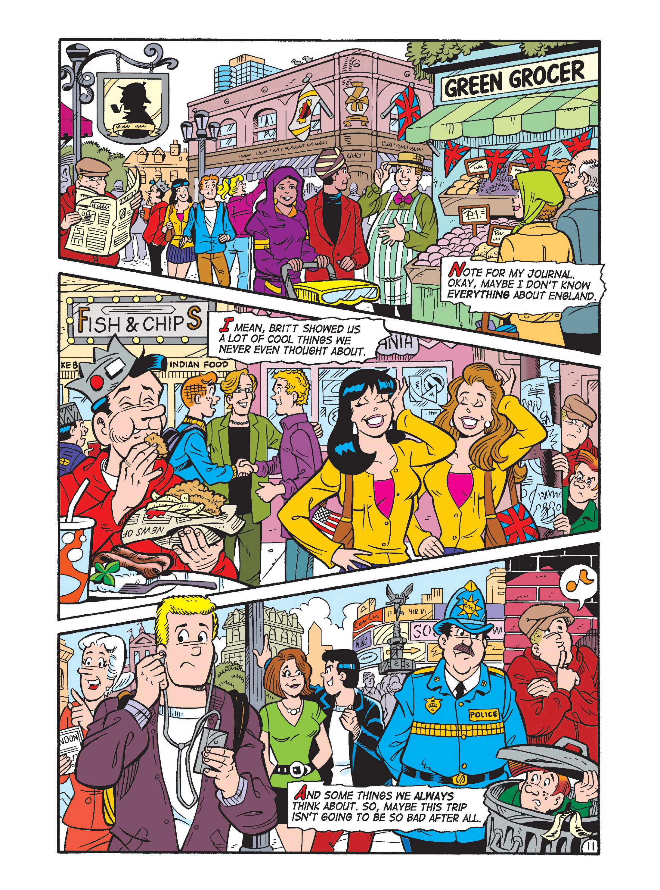 Read online Archie's Funhouse Double Digest comic -  Issue #1 - 46