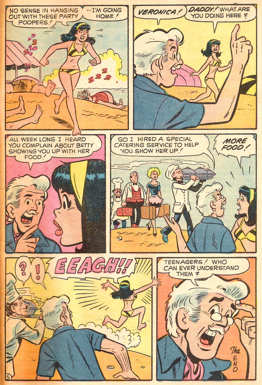 Read online Archie's Girls Betty and Veronica comic -  Issue #213 - 33