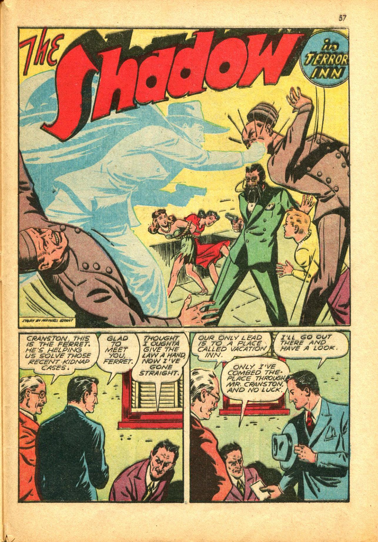 Read online Shadow Comics comic -  Issue #30 - 57