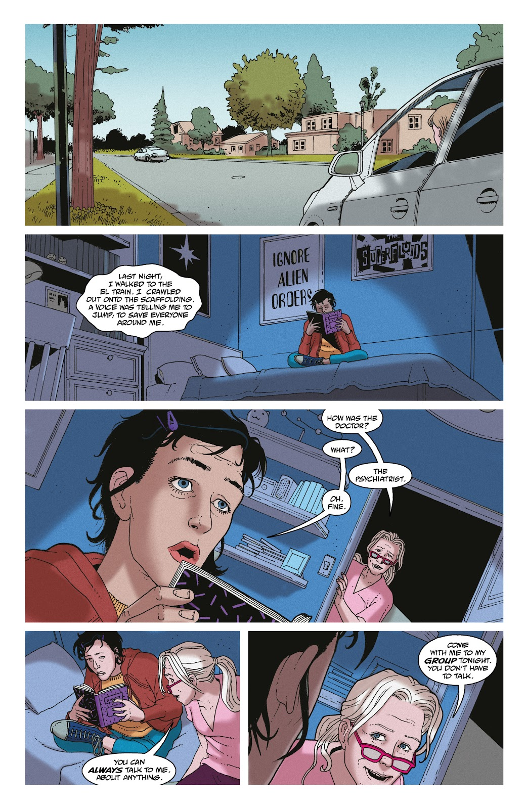 Read online She Could Fly comic -  Issue # _TPB - 92