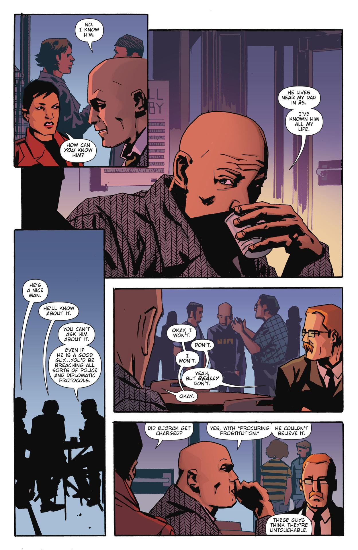 Read online The Girl Who Kicked The Hornet's Nest comic -  Issue # TPB - 61