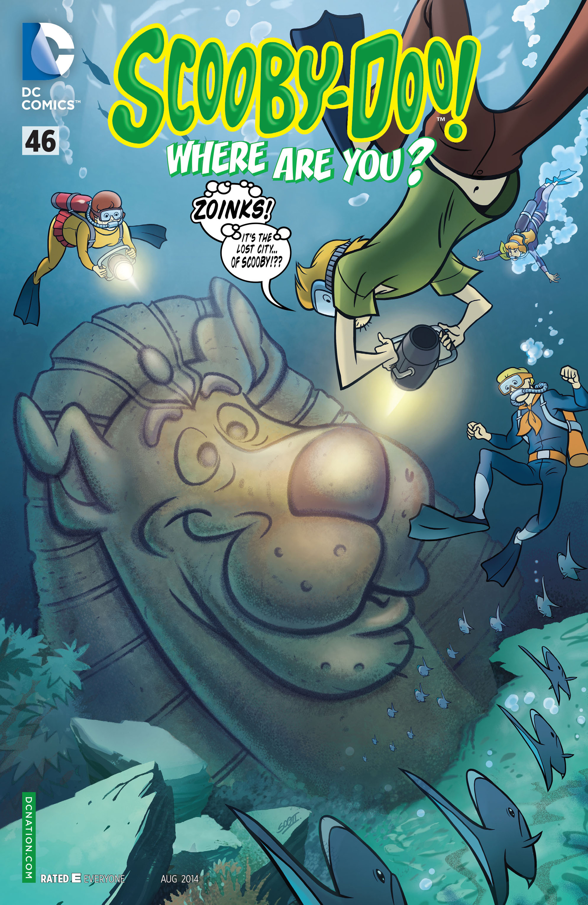 Read online Scooby-Doo: Where Are You? comic -  Issue #46 - 1