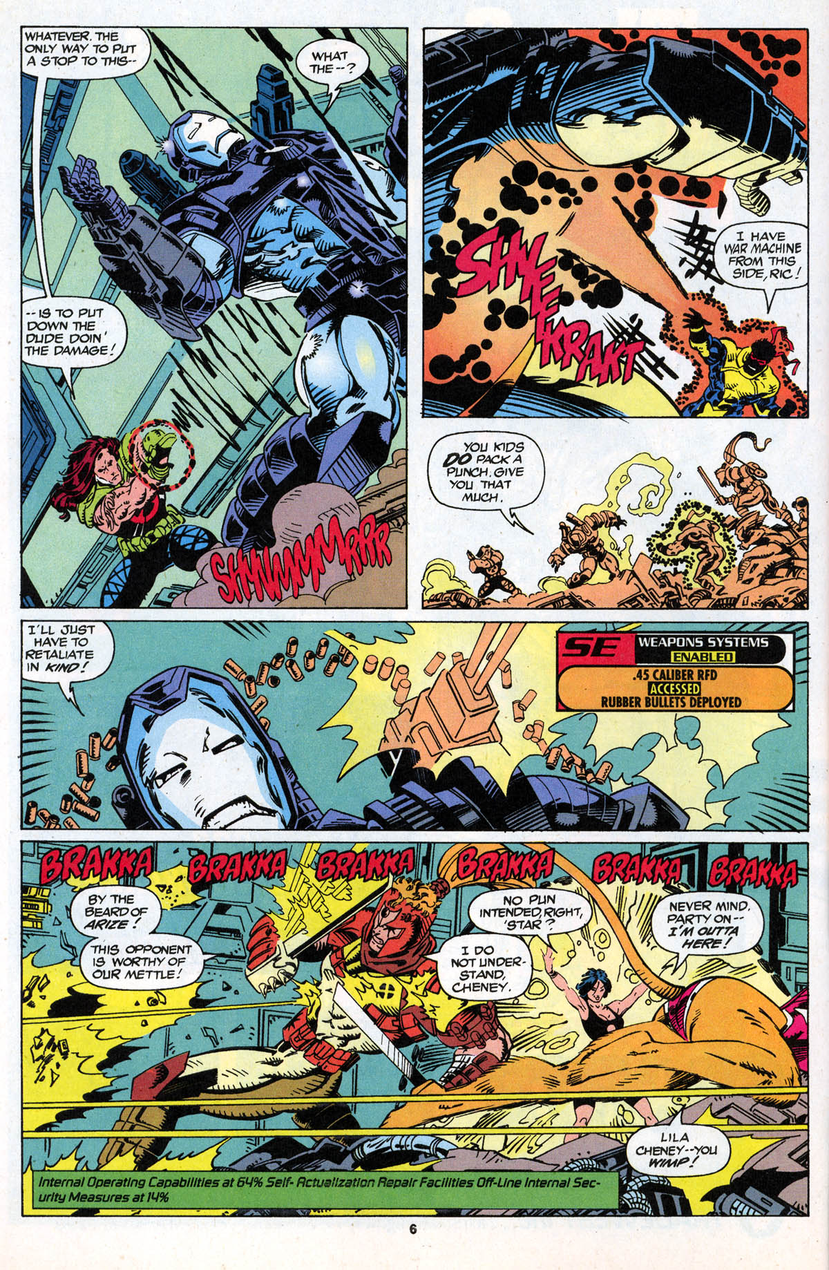 Read online X-Force (1991) comic -  Issue #21 - 7
