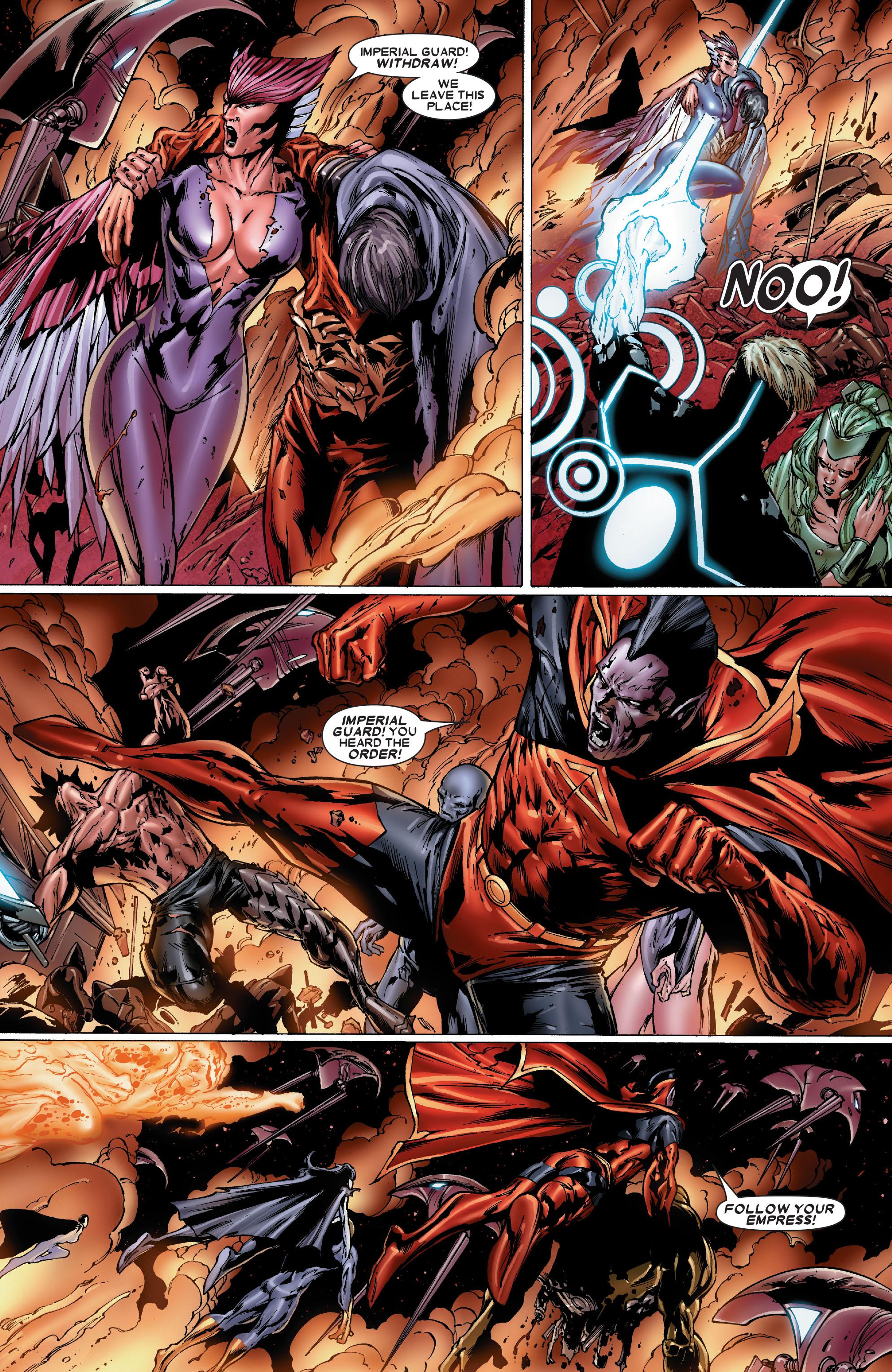Read online Uncanny X-Men (1963) comic -  Issue #486 - 17