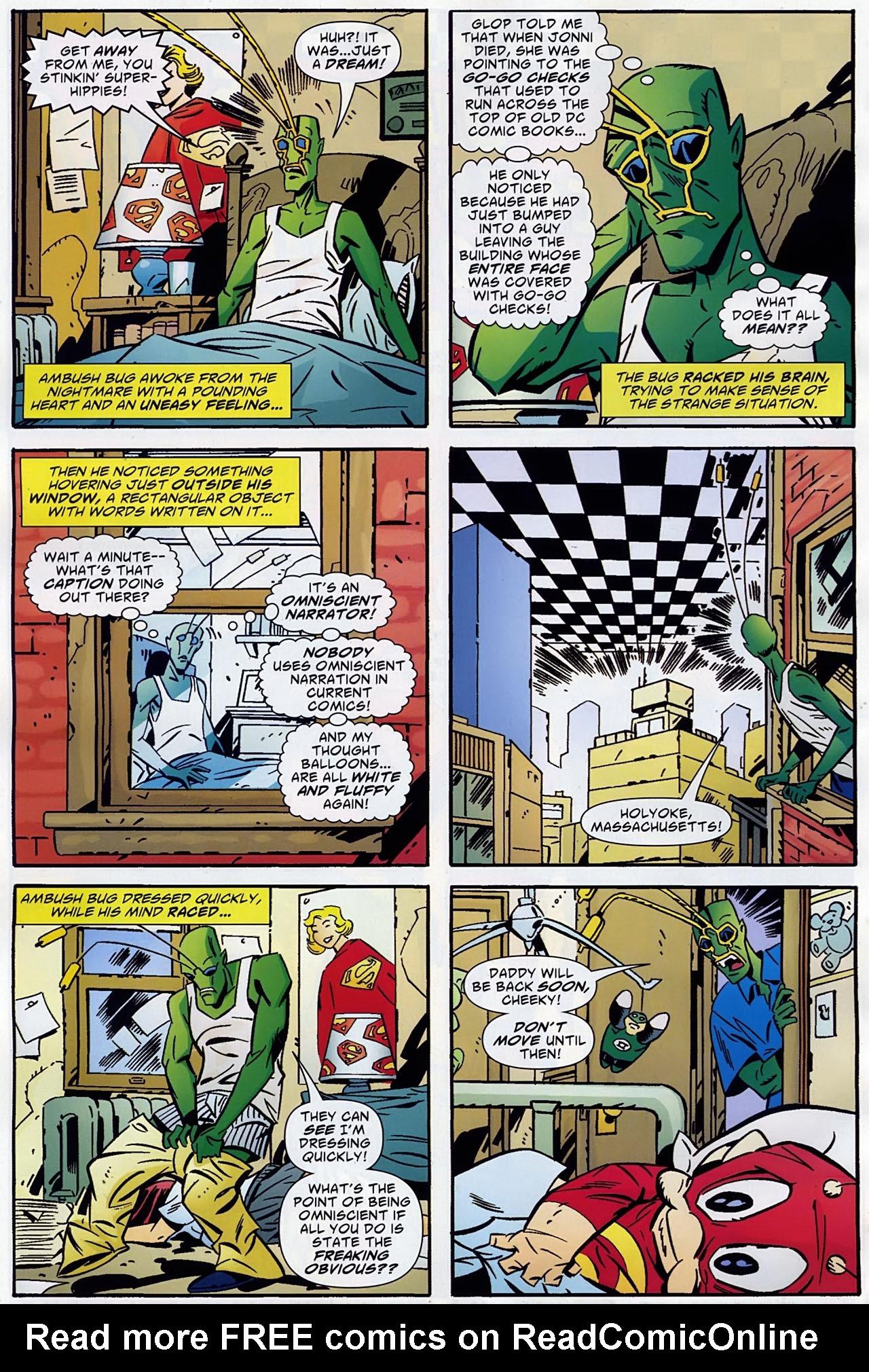 Read online Ambush Bug: Year None comic -  Issue #1 - 17
