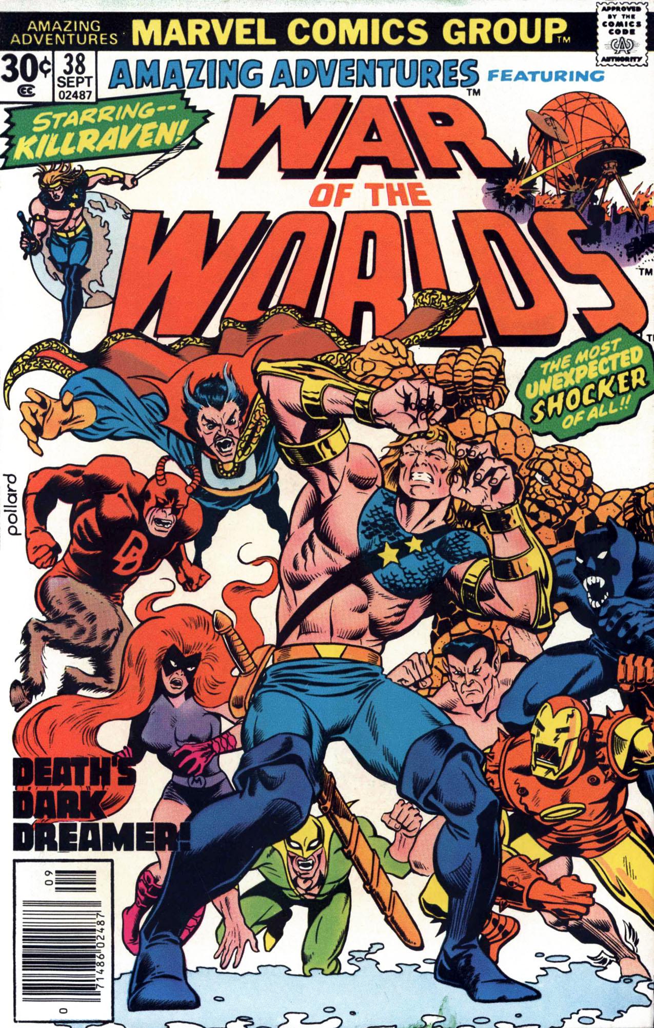 Read online Amazing Adventures (1970) comic -  Issue #38 - 1