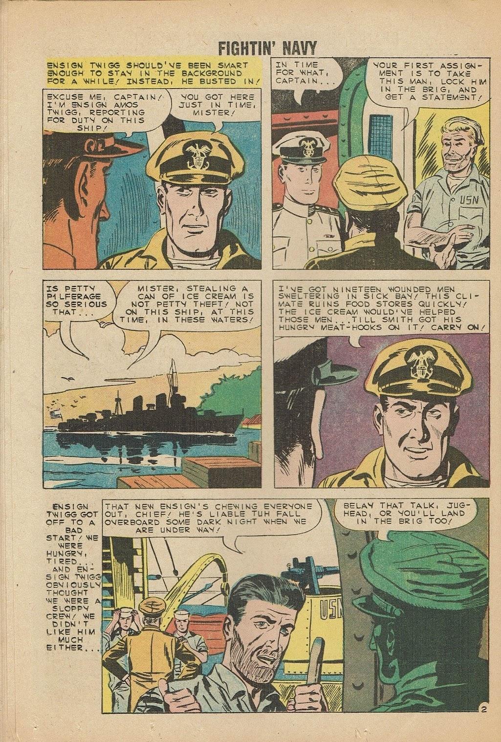 Read online Fightin' Navy comic -  Issue #91 - 16
