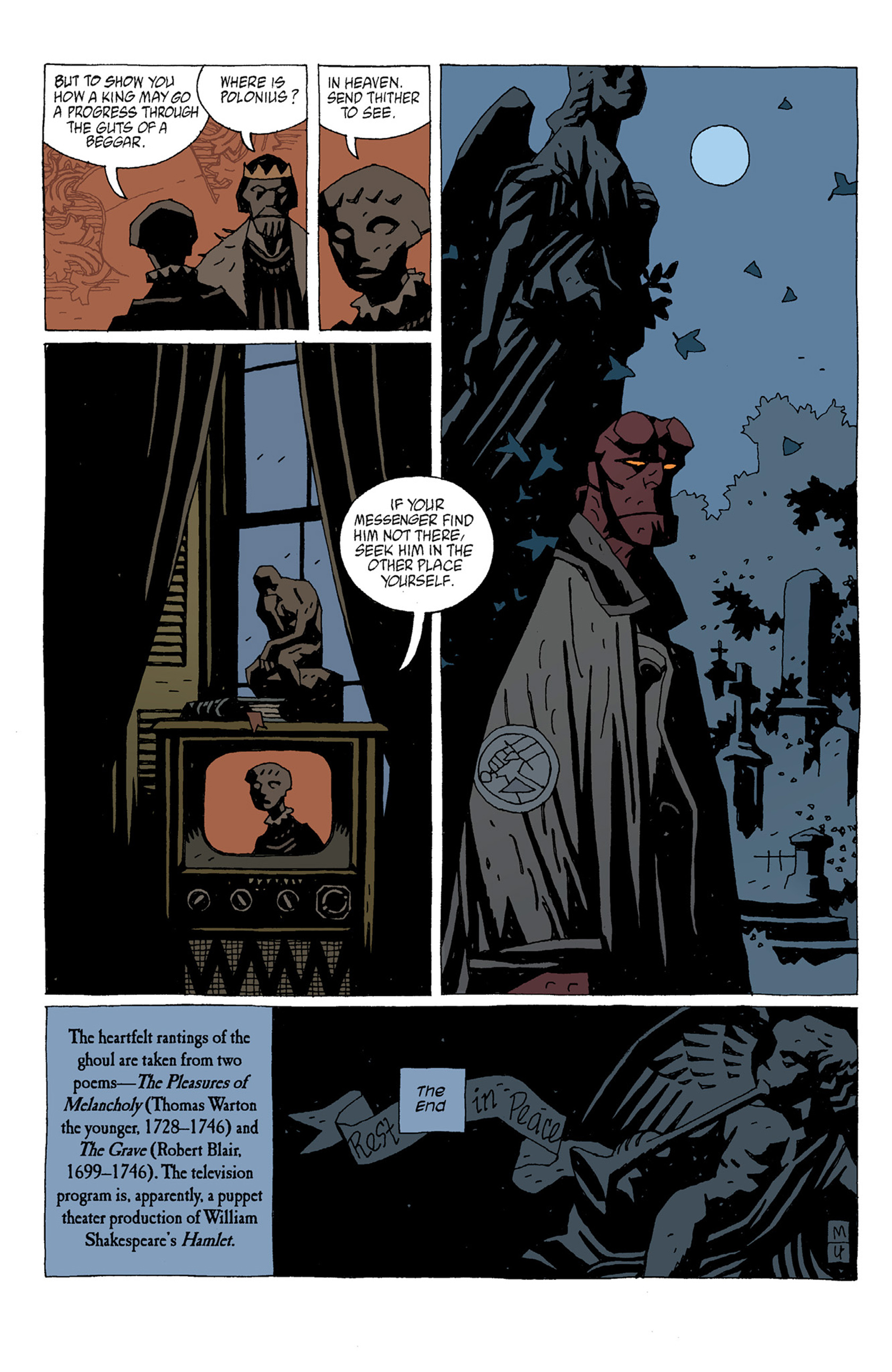 Read online Hellboy: The Troll Witch and Others comic -  Issue # TPB - 80