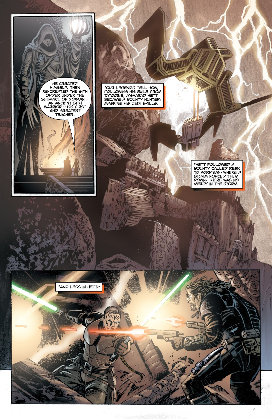 Read online Star Wars Legends: Legacy - Epic Collection comic -  Issue # TPB 1 (Part 5) - 6