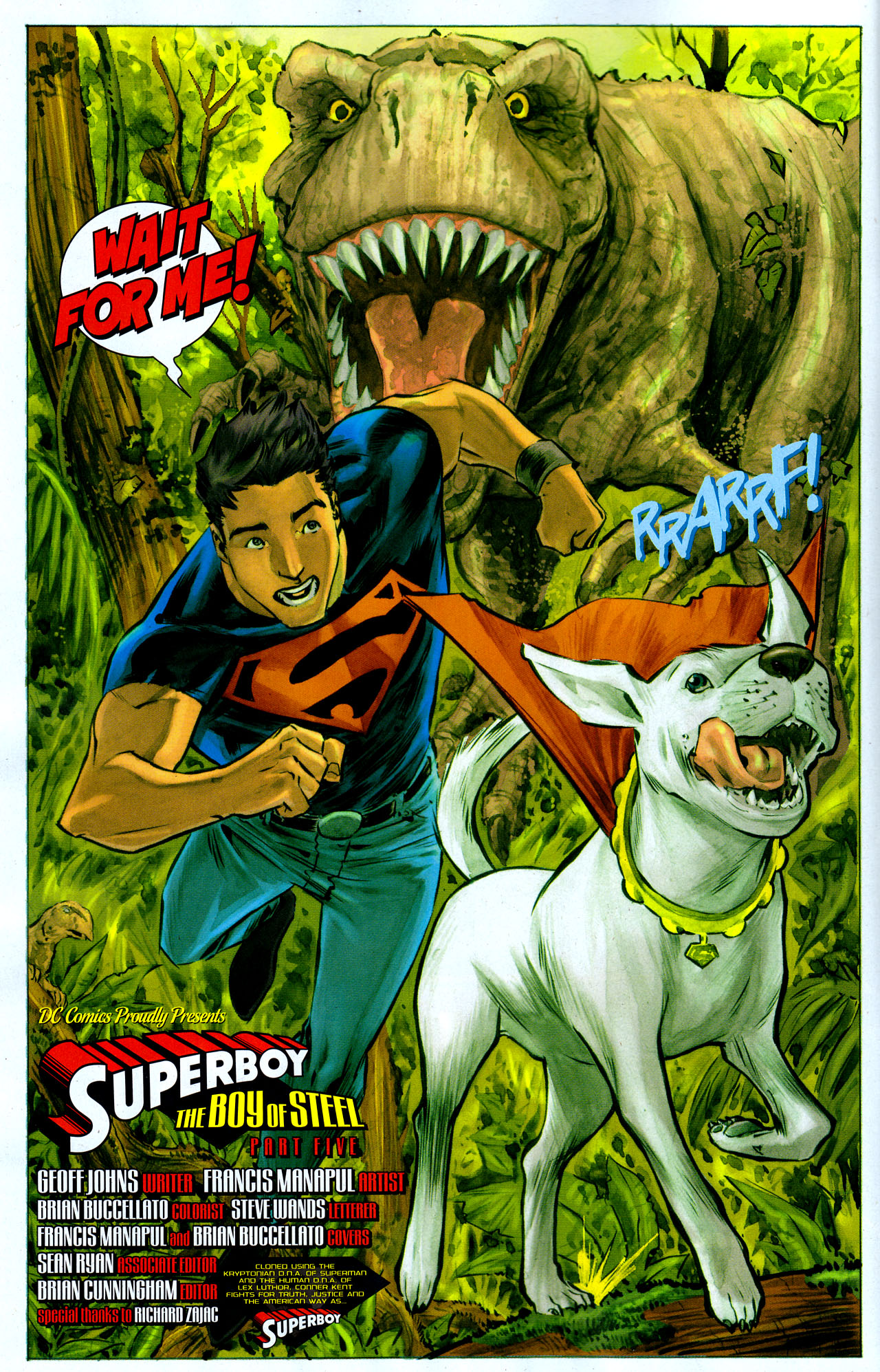 Read online Adventure Comics (2009) comic -  Issue #6 - 7