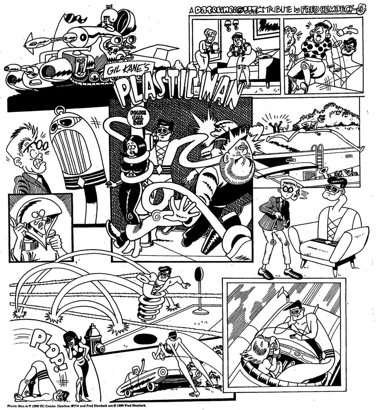 Read online The Nearly Complete Essential Hembeck Archives Omnibus comic -  Issue # TPB (Part 7) - 100