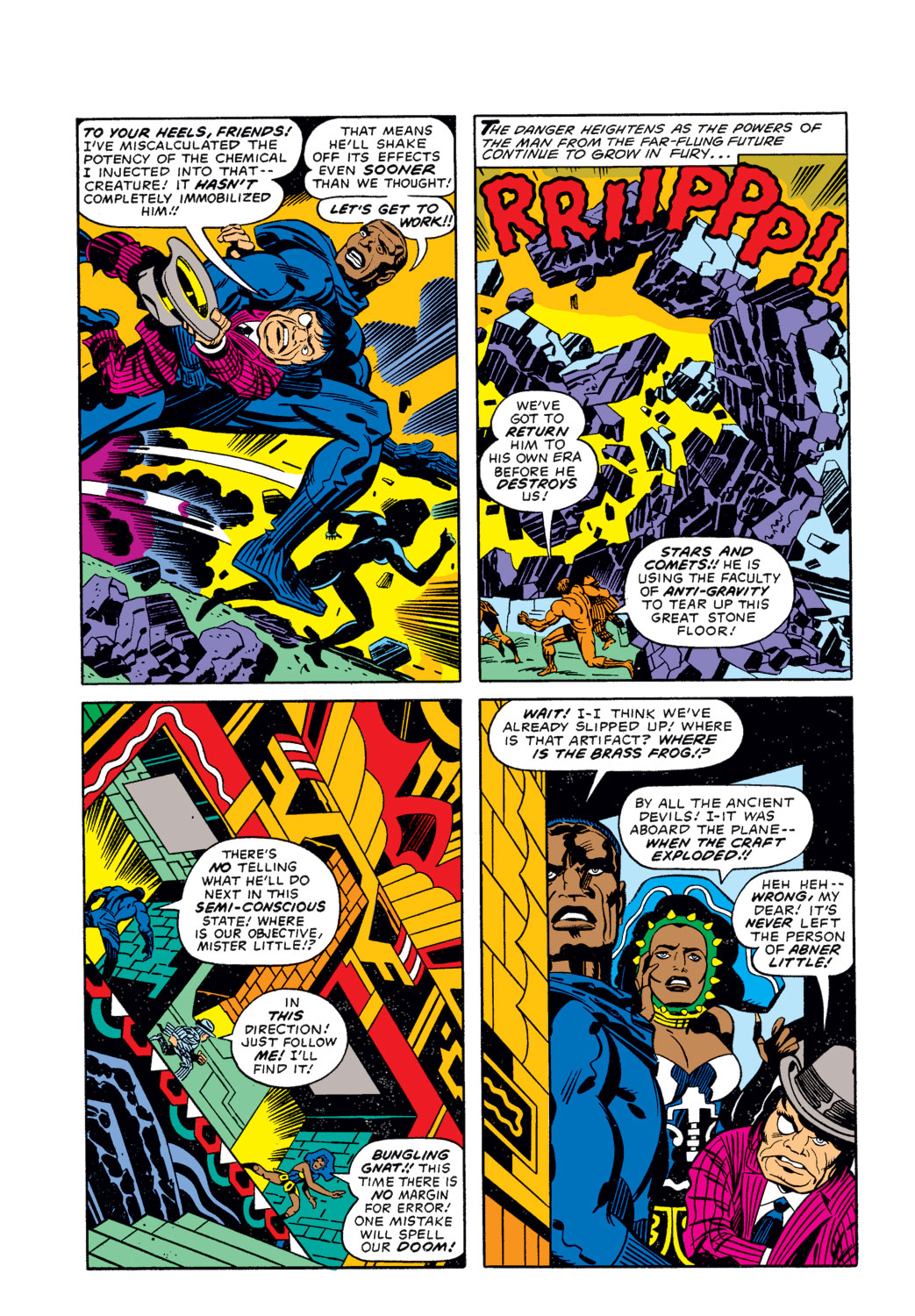Black Panther (1977) issue 3 - Page 7