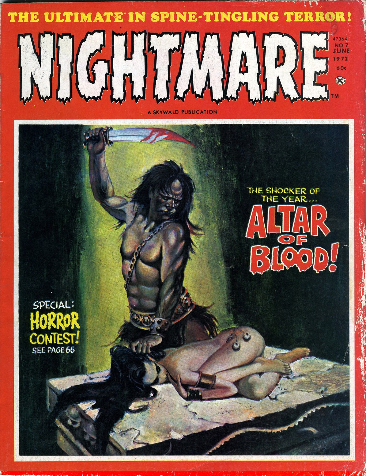 Nightmare (1970) issue 7 - Page 1