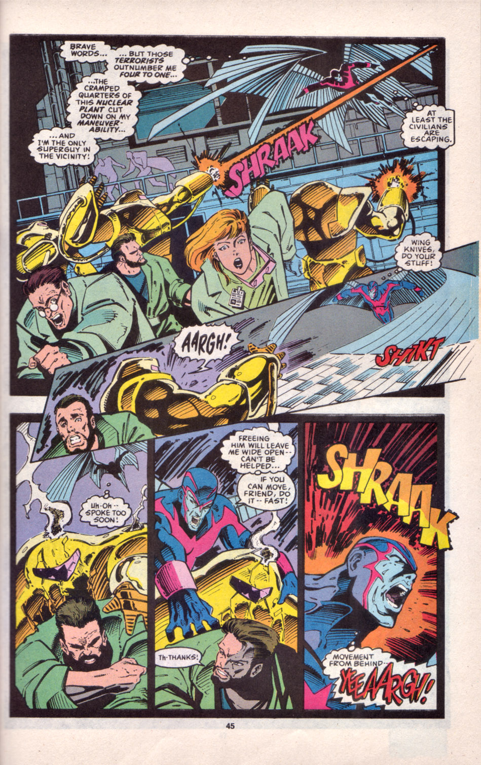 Read online Uncanny X-Men (1963) comic -  Issue # _Annual 16 - 38