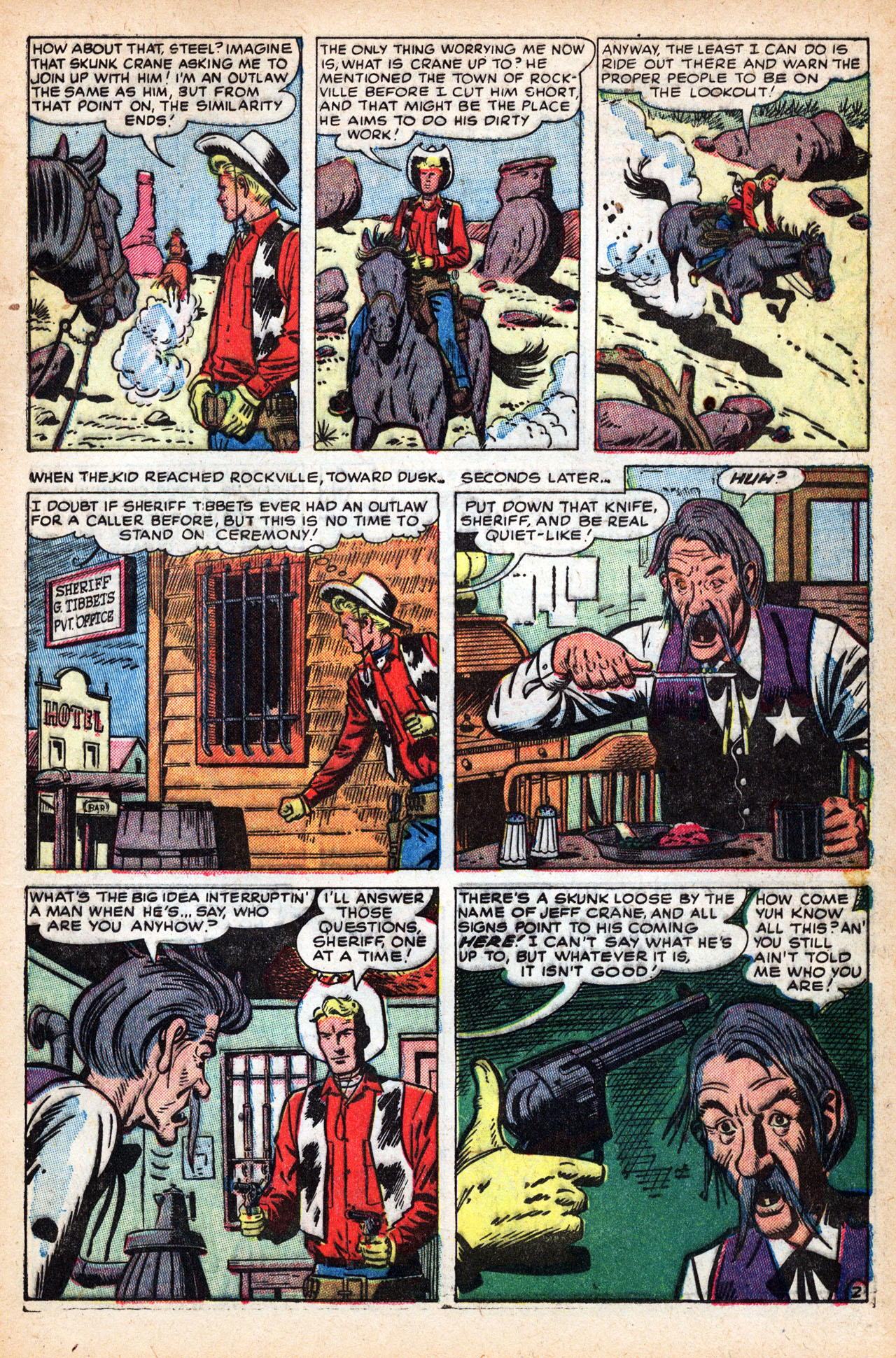 Read online Two-Gun Kid comic -  Issue #19 - 21