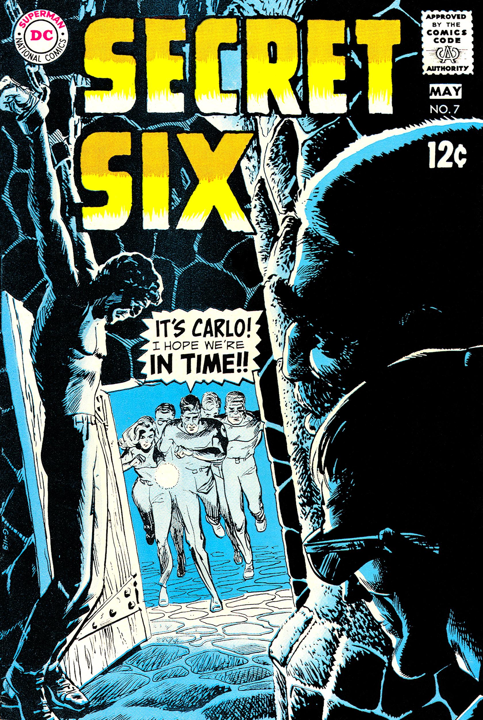 Secret Six (1968) 7 Page 1