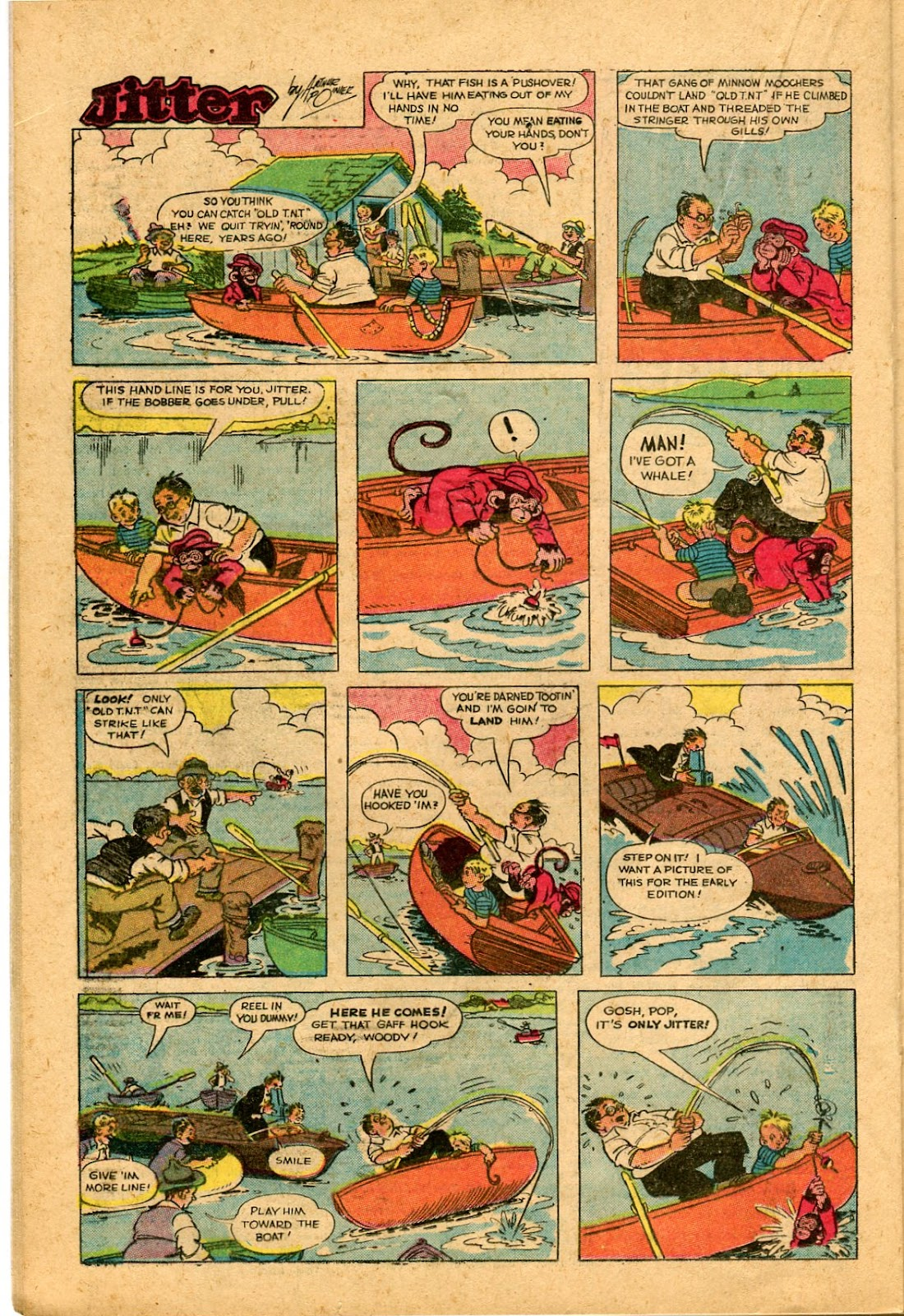 Read online Famous Funnies comic -  Issue #136 - 20